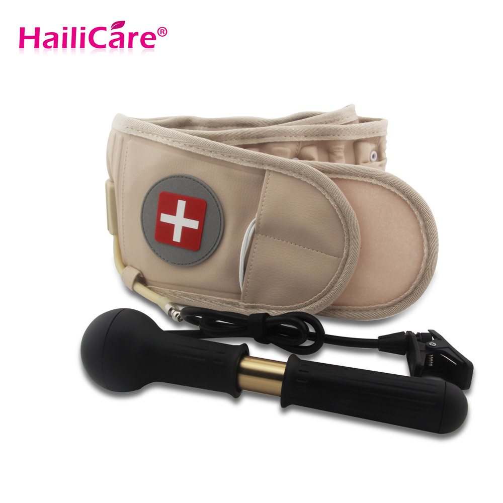 Aliexpress com buy health care lumbar support decompression therapy belt physio back brace spinal pain relief back massage pain relaxation from reliable