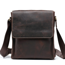 Teemzone-ผู้ชายขายร้อนบ้าม้ากระเป๋าหนังแท้Messengerถุงแล็ปท็อปไหล่กระเป๋าพนังกระเป๋าMessengerกระเป๋าJ30