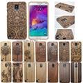 Роскошные gfit 100% Бамбук Скульптура ПРИМЕЧАНИЕ Древесины carcasa Engraved Case Для Samsung Galaxy S4 mini S5 Neo S6 Край Плюс S7 ПРИМЕЧАНИЕ 5 4 3