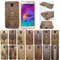 Luxury gfit 100% Bamboo Sculpture NOTE Wood carcasa Engraved Case For Samsung Galaxy S4 mini S5 Neo S6 Edge Plus S7 NOTE 5 4 3