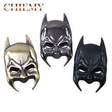 3D Car Stickers Cool Metal Bat Auto Logo Car Styling Metal Batman mask Badge Emblem Tail Decal Motorcycle Car Accessories