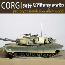 1/64 CORGI DIECAST TACTICAL STRIKE 2003 M1A1 ABRAMS TANK-USMC 2nd Tank Battalion The military tanks alloy simulation model
