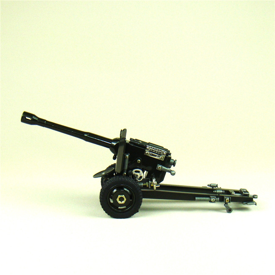 Modern Cannon Howitzer Scale Model Diecasted Iron