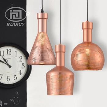 Vintage Style LED Wrought Iron Mesh Droplight Bar Loft Restaurant Cafe Single Head LED Pendant Lamp