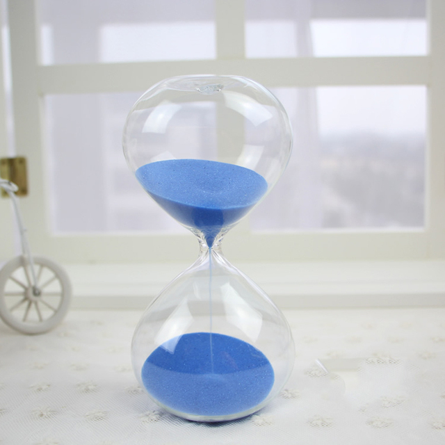 5min 15min 30min Round Transpa Sand Hourgl Sandgl Color Timer Room Decoration Red