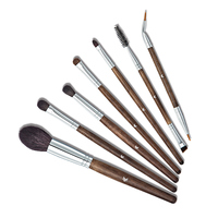Professional 7PCS Makeup Brush Set For Face Eye Eyelash Foundation Brushes Natural Hair Brushes Cheap Cosmetic