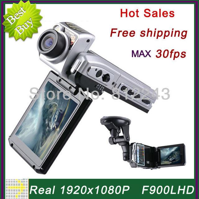 F900 1920 * 1080P Car Camera 30fps Video Registrator Car DVR Full HD Video Recorder Car Black Box F900LHD Novatek DVR Recorder