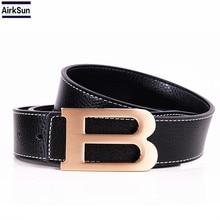 B Buckle Belt ceinture femme High quality Designer Famous Brand Luxury Belts Men Women Female Waist Strap genuine Leather Alloy