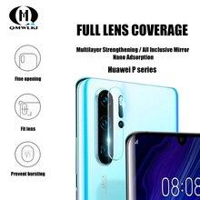 โทรศัพท์มือถือกล้องเลนส์ป้องกันฟิล์มนุ่มสำหรับ Huawei P30 30pro 30 lite P20 20pro หน้าจอป้องกัน Mate20 20x 20pro 20 lite RS