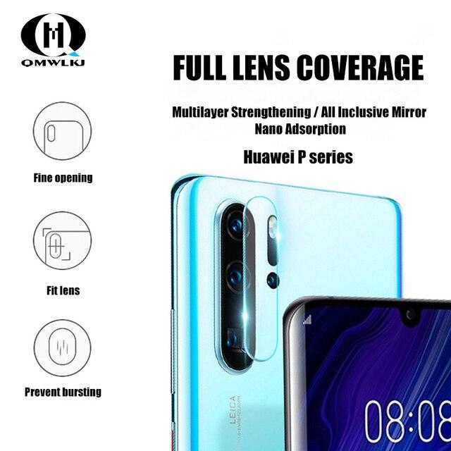 Protector de la Lente de la cámara del teléfono móvil película suave para Huawei P30 30pro 30 lite P20 20pro protección de la pantalla Mate20 20x 20pro 20 lite RS