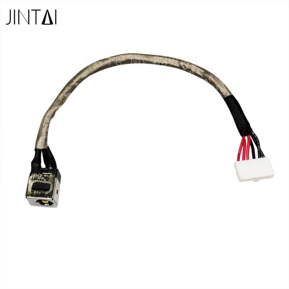 100% NEW JINTAI LAPTOP DC POWER JACK SOCKET CONNECTOR CABLE charging port plug For MSI GS60 MS-16H5 15.6 1pcs dc power jack socket plug connector port for asus k53e k53s mother board new arrival wholesale