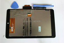 For ASUS GOOGLE NEXUS 7 1st Gen 2012 LCD Display Screen Touch &Screen digitizer Assembly with free tools&free shipping