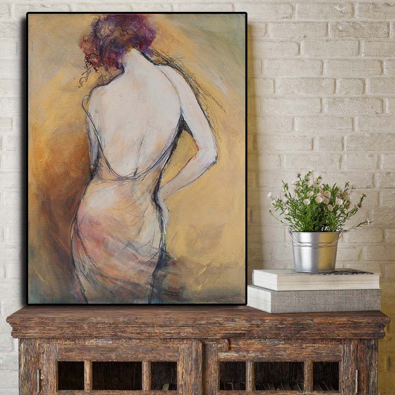 Get Naked Canvas Prints For Any Decor Style