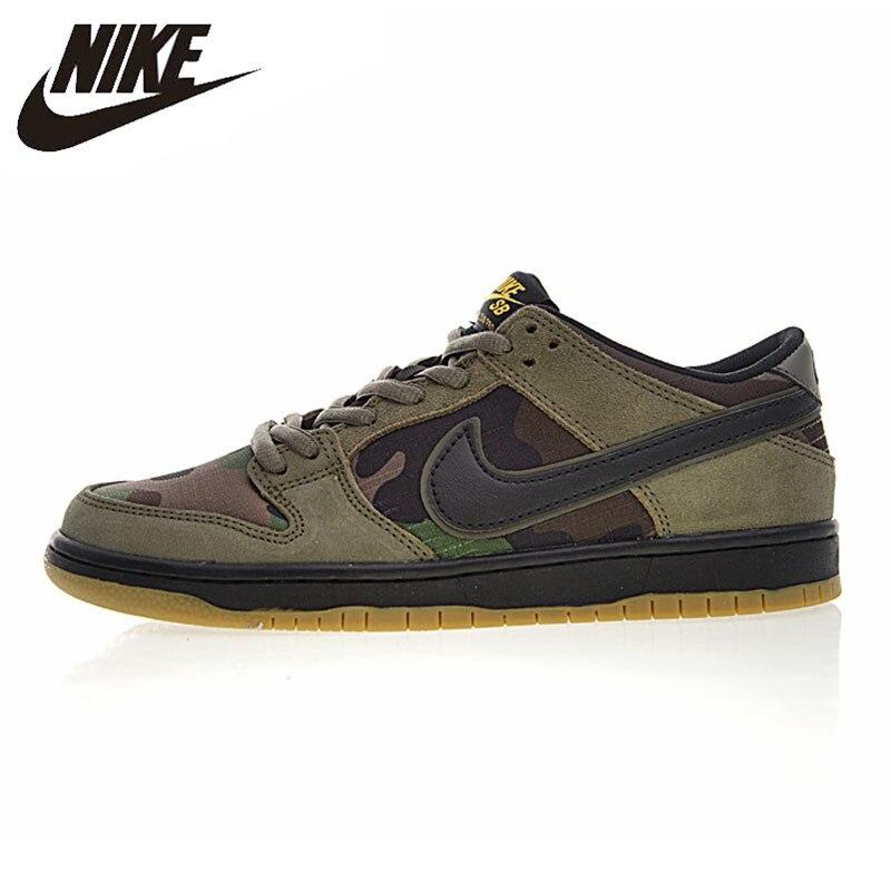 new product 9c06a 47fd1 Nike SB Zoom Dunk Low Pro chaussures de skate homme, résistant respirant  vert armée,