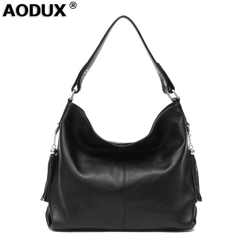 Fast Shipping 100 Genuine Leather Women s Handbag First Layer Cow Leather long Handel Messenger Shoulder