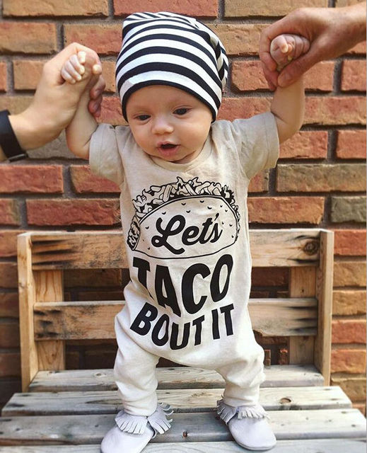 Let's Taco Bout It Shortsleaved Jumpsuit 4