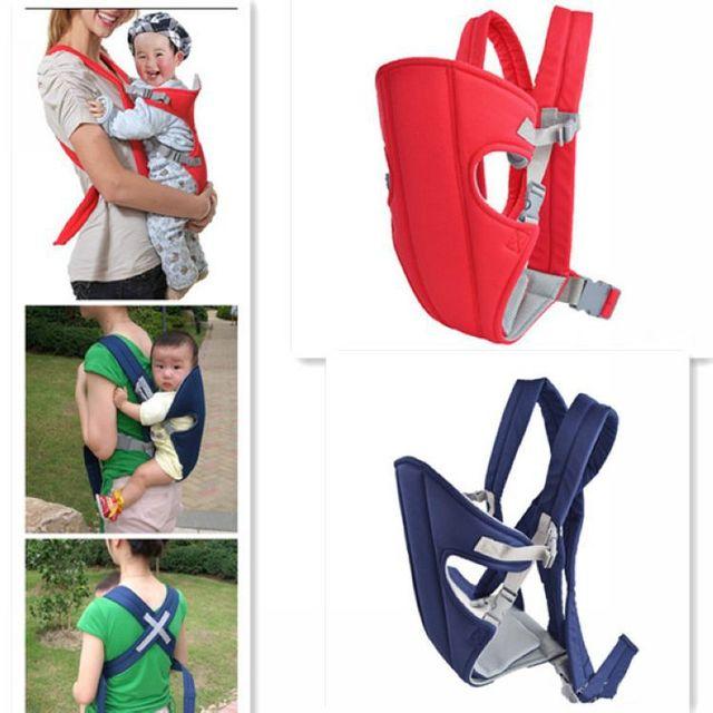 1pcs Baby Carrier Sling Wrap Rider Infant Comfort Front Back