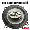 new arrival 2 pcs Sound bass tweeter 5 Inch Coaxial Car Speakers Car stereo Speakers max music power 180W