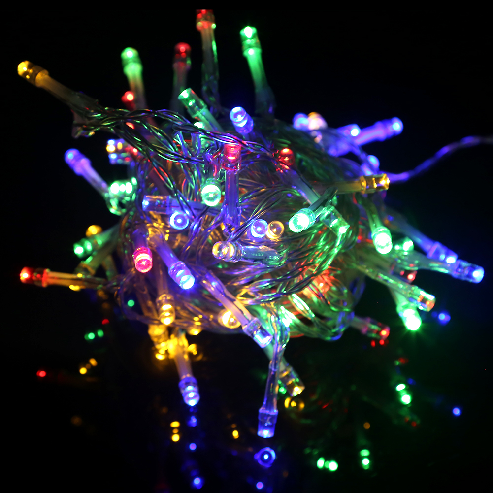 2M/3M/4M/5M LED String Lights Fairy Portable Battery Multicolour Lighting for Christmas New Year ...