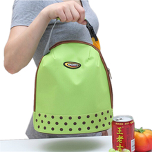 Picnic Protable Ice Bags Oxford Hand Carry Thickened Cooler Bags 4 Colors Lunch Bag Food Thermal Organizer cooler bag(China)