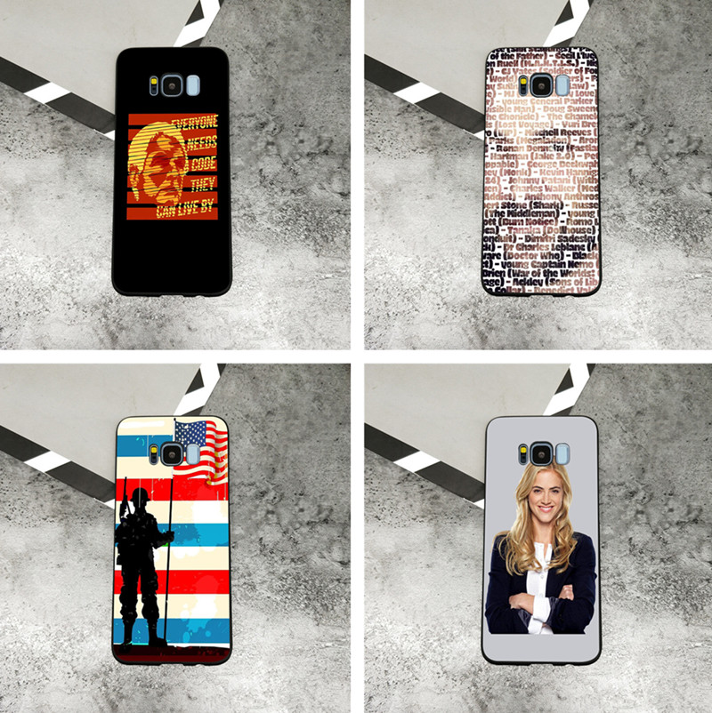 Ncis Tv Show Los Angeles Black Soft Silicone Phone Case For Samsung
