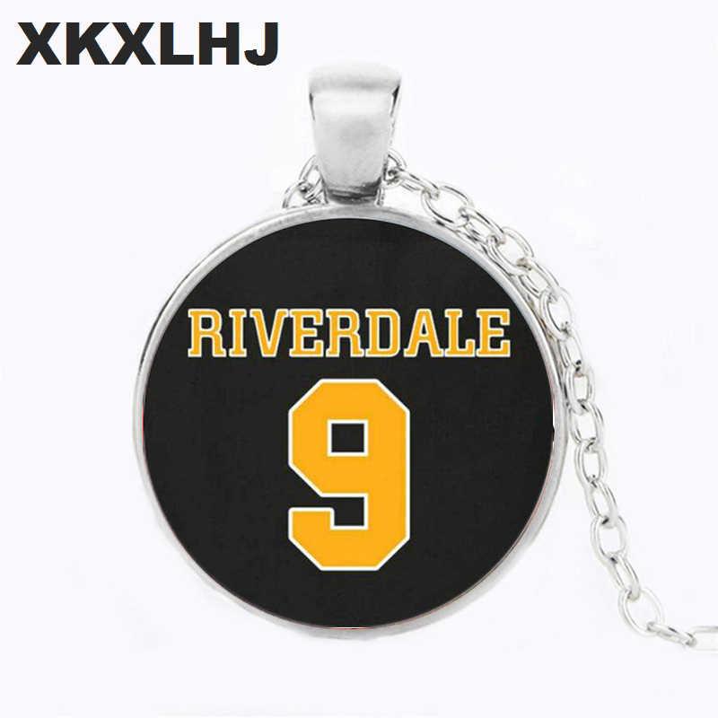 XKXLHJ proste Riverdale para słowa naszyjnik Punk Hip Hop chłopcy dziewczęta długi łańcuch komunikat naszyjnik kobiety biżuteria męska