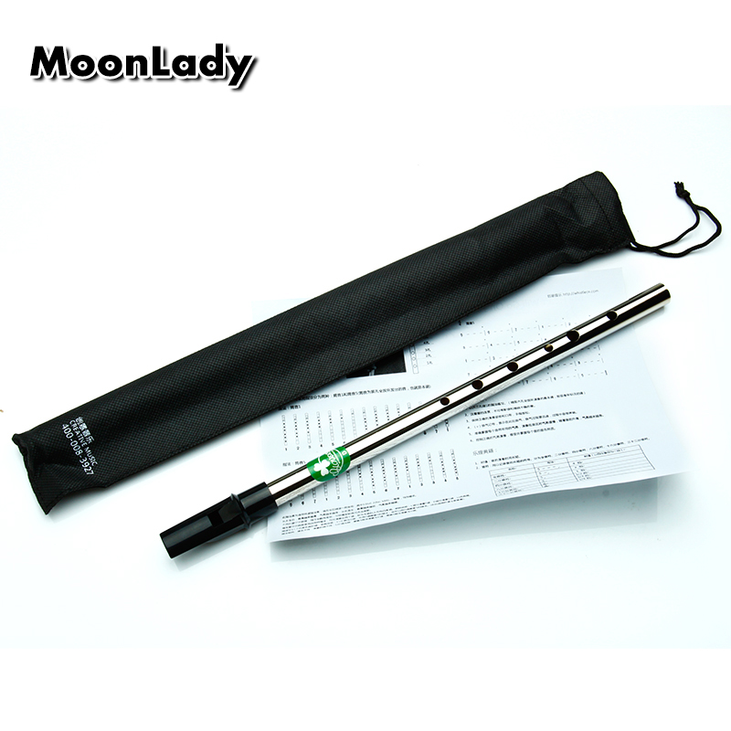Tinwhistle Ireland Musical Instrument Irish Whistle Flute Tin Whistle Professional Pennywhistle Metal Mini Tinwhistle D Key