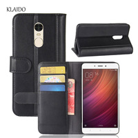 KLAIDO Genuine Leather Mobile Phone Case For Redmi Note 4 Case 100 Original From KLAIDO Luxury