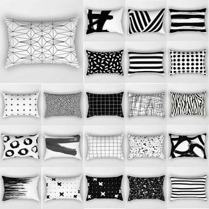 Unicorn pillow case geometric