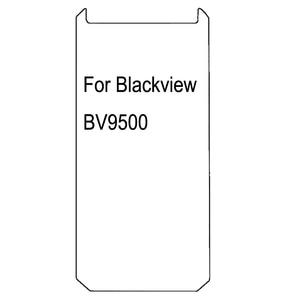 Image 2 - Película vidro temperado para blackview, 2 peças 2.5d 9h 0.26mm hd bv9500 protetor de tela à prova de explosão bv9500 bv 9500 plus