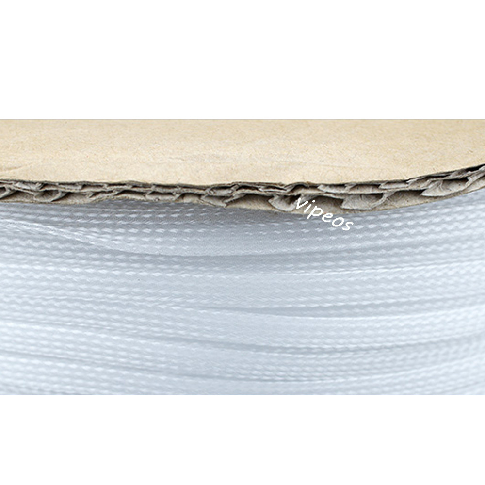 hight resolution of 10meter braided cable 6 12mm wiring harness loom protection sleeving white