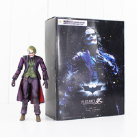 22cm PLAY ARTS KAI No. 04 The Joker Action Figure Joker With Poker Cards Knife Gloves Mask Model Doll Collectible Toy