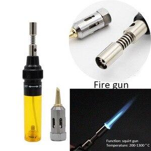 Image 4 - Urijk 1300 Celsius Butane Gas Welding Soldering Irons Welding Pen Burner Blow Torch Gas Soldering Iron Cordless Butane Tip Tool
