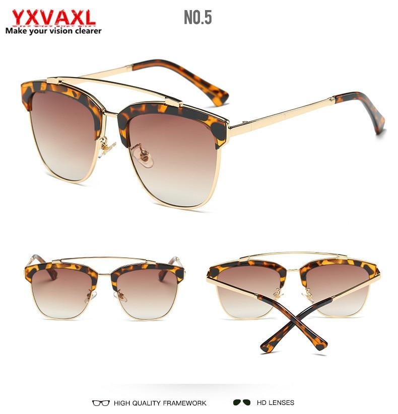 New moda mujeres retro gafas de sol de marco rojo lente gris ...