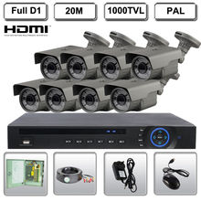 Dwelling 8CH CCTV Surveillance DVR eight Outside Evening Imaginative and prescient Safety Digital camera System Equipment
