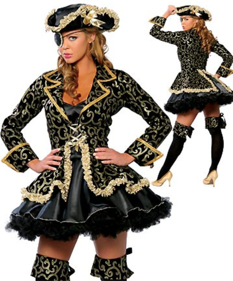 hot sale high quality women sexy pirate costume halloween carnival party role play uniform bar costume - High Quality Womens Halloween Costumes