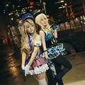 LoveLive Job Awaken Minami Kotori Police Ayase Eli Kaitou Cosplay Costume Uniform Full Set