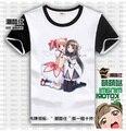 Free Shipping Short Sleeve Puella Magi Madoka Magica T-shirt HomuLilly Top Tees Shirt