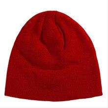 Новый Трикотажные Шапочки Hat Зима Теплая Шерстистого Унисекс Топ Мужские Дамы Череп Esqui Крышка Gorros Бесплатная Доставка