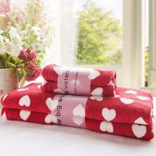 Ventas calientes Rojo amor Cupido de Fibra toalla de baño 90 160 cm toalla de baño Toalla de Baño de La Borla de La Decoración Impresa Toalla de Baño Verano Estilo 1 unids