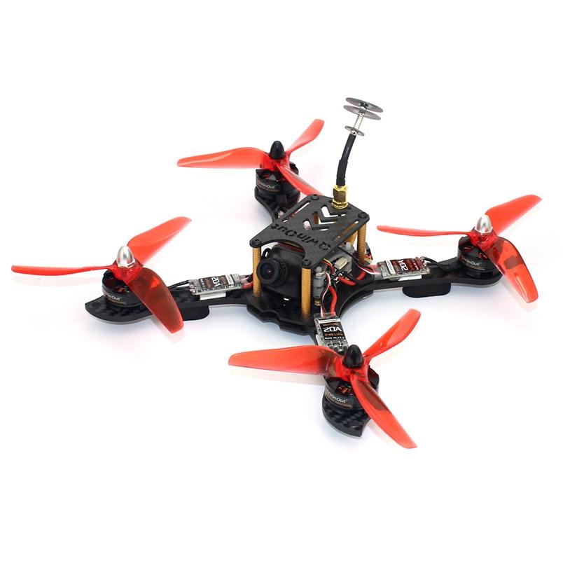 JMT 210mm RC Aircraft Racer FPV Racing Drone Hexacopter With 2300KV Motor 700TVL Camera F4 Pro(V2) Flight Controller