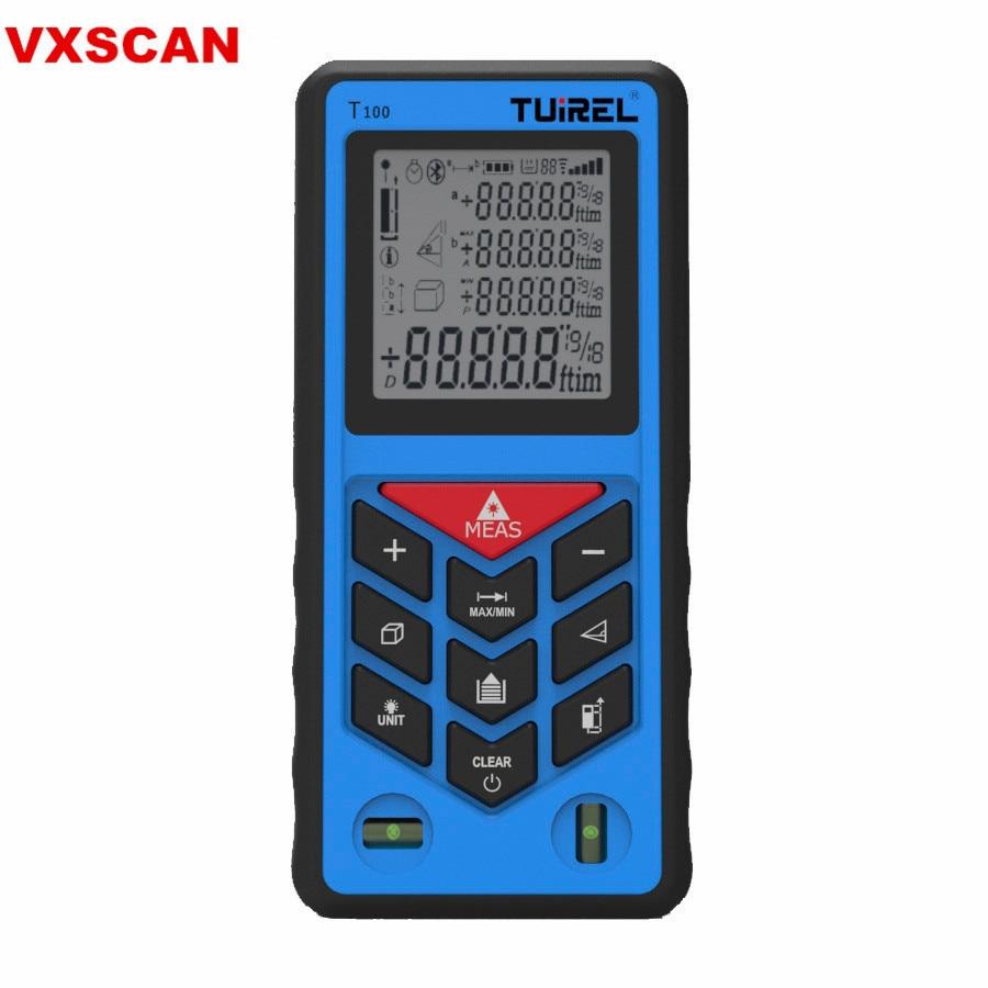 Tuirel T70 Handheld 70m/229ft/2755in Digital Laser Distance Meter Range Finder Measure Instrument Diastimeter