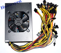 Mining Case Eth DASH Miners Power Supply 1600W 12V 128A Output Including 4P 6P 8P 24P