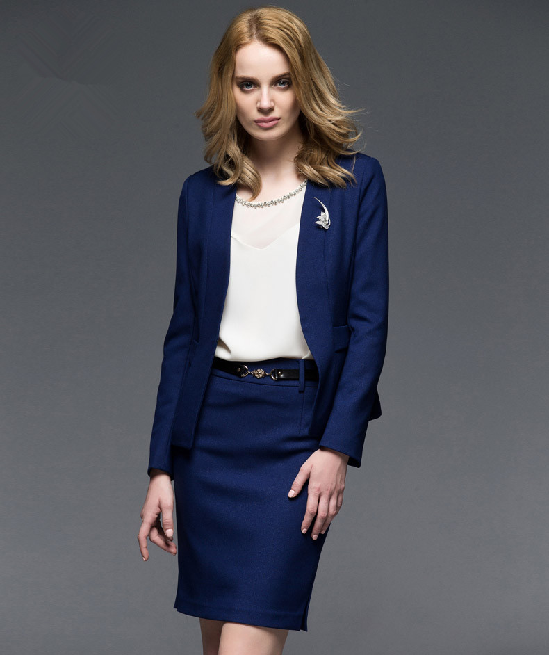 Popular Royal Blue Skirt Suit-Buy Cheap Royal Blue Skirt Suit lots ...