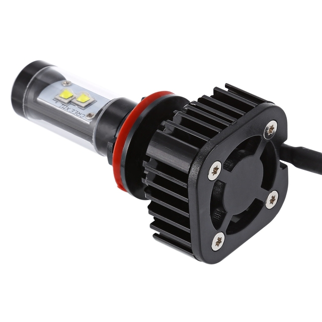 Paired K8 H13 80W Integrated LED Vehicle Headlight Heat Dissipation Vibration Resistance Super Brightness Low Power Consumption