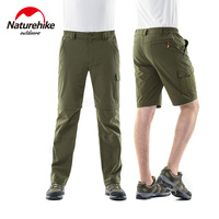 Naturehike Summer Super Light Men Women Walking Comping Hiking Detachable Quick Drying Pants Shorts Bottoms NH02Y016