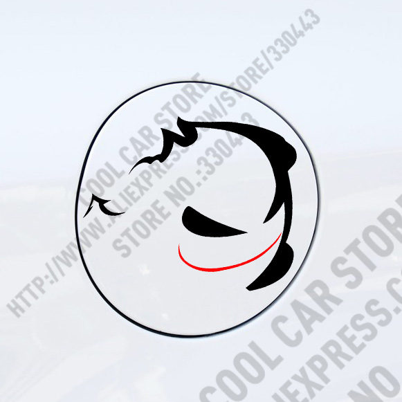 10 Pieces Evil Rabbit Car Sticker For Volkswagen VW Golf Polo Car Styling