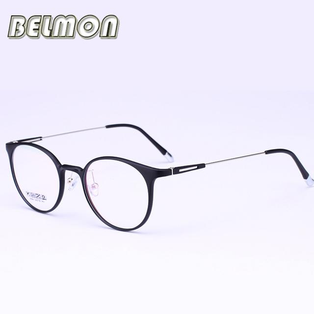 Marco de las lentes Mujeres Informáticos Anteojos Ópticos Espectáculo Para RS278 Armacao gafas de Lente Transparente de La Vendimia de Las Mujeres