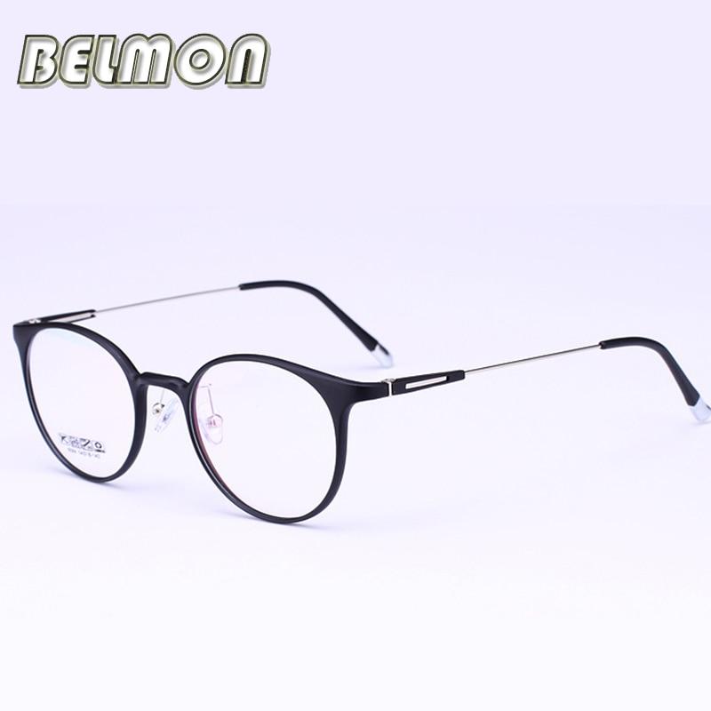 cfef999eb5c72 Ojo Gafas Marcos mujer ordenador óptico ojo Gafas espectáculo para las mujeres  armacao de transparente claro lente vintage rs278
