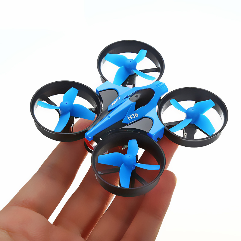 JJRC H36 RC Mini Drone Helicopter 4CH Toy Quadcopter Drone Headless 6Axis One Key Return 360 degree Flip LED rc Toys VS H56 H74 2